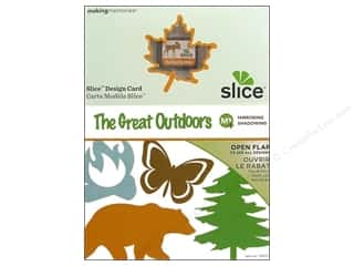 "Slice by Elan 4"": Slice Design Card Making Memories MS+ The Great Outdoors"
