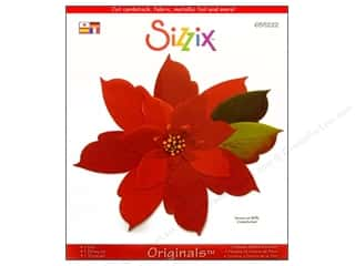 Christmas Sizzix Die: Sizzix Originals Die Flower Petals & Center by Debi Adams