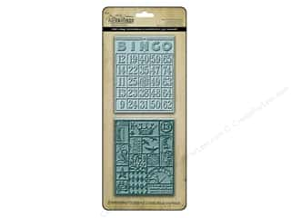 Sizzix Emboss Folder Tim Holtz TF Bingo &amp;Patchwork