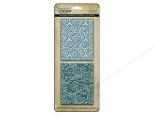 Sizzix Emboss Folder Tim Holtz TF Damask &amp;Flourish