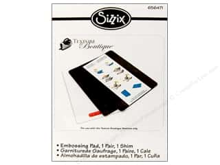 Sizzix Texture Boutique Embossing Pad Standard 1pr