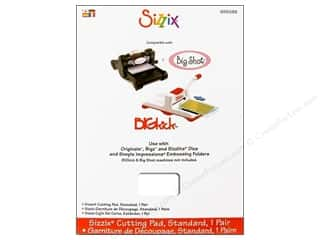 Sizzix Quilting: Sizzix Cutting Machine & Accessories Cutting Pad Standard 1pr