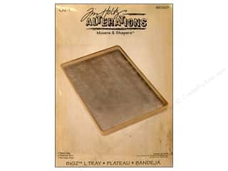 Plastic Tray Scrapbooking Gifts: Sizzix Movers & Shapers Accessory Base Tray L by Tim Holtz