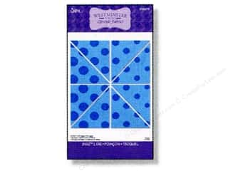 Sizzix Bigz L Die Half Square Triangle 2 1/2&quot; Unfinished