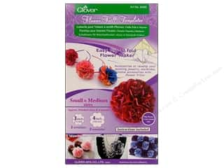 Clover Flower Frill Template Small & Medium