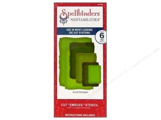 Spellbinders Nestabilities Die Curved Rectangles