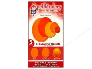 Spellbinders Nestabilities Die Classic Ovals Large