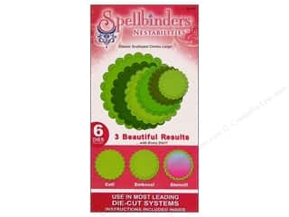 Spellbinders Nestabilities Classic Scalloped Circles Large
