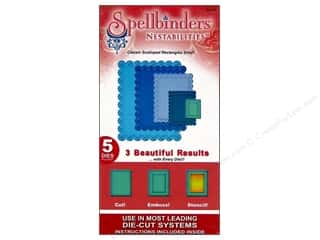 Spellbinders Nestabilities Classic Scalloped Rectangles Small