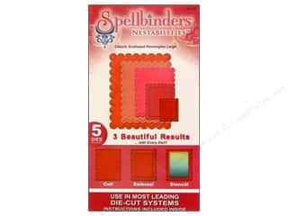 Spellbinders Nestabilities Classic Scalloped Rectangles Large