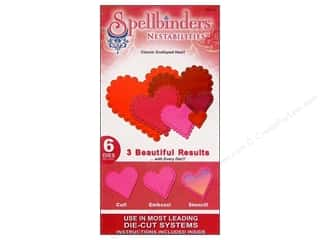 Spellbinders Nestabilities Classic Scalloped Heart
