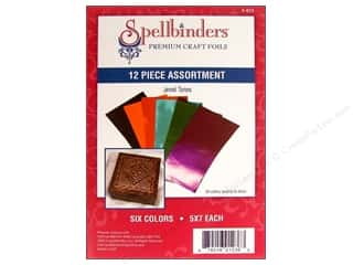 Spellbinders Premium Craft Foil Jewel Tones 12 pc.