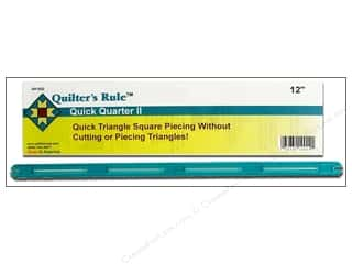 "Guides 4"": Quilter's Rule Quick Quarter II 12""x 1/2"""