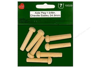 Lara's Wood Axle Peg 1 3/8 in.  7 pc.