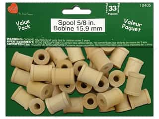 Lara's: Lara's Wood Spool Value Pack 5/8 in. 33 pc.