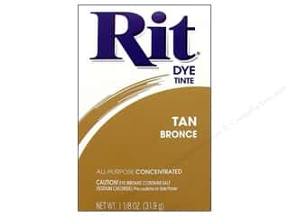 Rit Dye Powder: Rit Dye Powder 1 1/8oz Tan