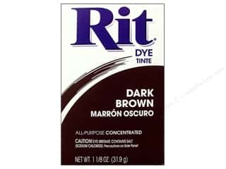 Weekly Specials Rit Dye Powder: Rit Dye Powder 1 1/8oz Dark Brown