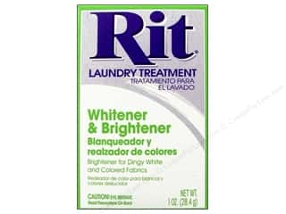 Rit Laundry Treatment Powder Fabric Whitener 1oz