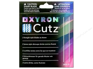 Scissors Clearance Crafts: Xyron Creatopia Cutting Cutz Blade Straight 2pc