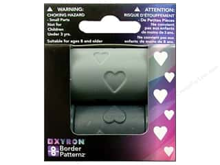 Xyron Creatopia Emboss Patternz Border Hearts 1