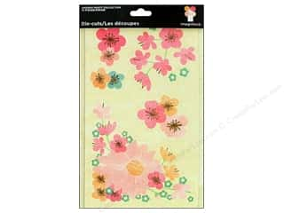 Imaginisce Die Cut Tags Garden Party Blossom