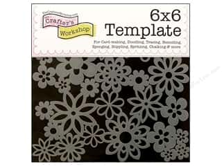 The Crafters Workshop Template 6x6 Gathered Flwrs