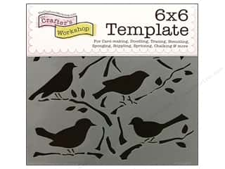 The Crafters Workshop Template 6x6 Birds