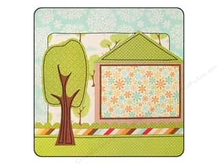 Clearance Blumenthal Favorite Findings: K&Co Paper 12x12 Suburban Bliss Stitched House (12 sheets)