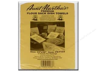 "Hemming: Aunt Martha's Towels Flour Sack 33""x 38"" 2pc"