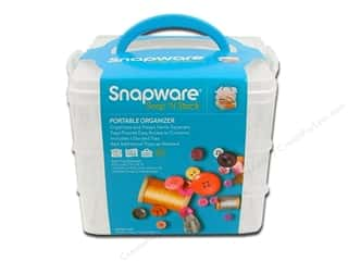 Organizers $3 - $6: Snapware Snap 'N Stack Small Square 3 Layer 1 Divided
