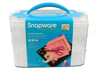 Organizers $3 - $6: Snapware Snap 'N Stack Medium Rectangle 3 Layer
