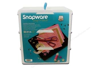 Snapware Snap 'N Stack: Snapware Snap 'N Stack Large Square 3 Layer 4 Dividers