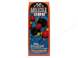 Kids Crafts Foam: FloraCraft Styrofoam Kit Molecule Painted Boxed