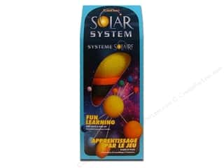 Styrofoam Kids Crafts: FloraCraft Styrofoam Kit Solar System Painted Boxed
