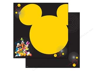 "EK Success Licensed Products: EK Paper 12""x 12"" Bulk Disney Mickey & Friends Character (25 sheets)"