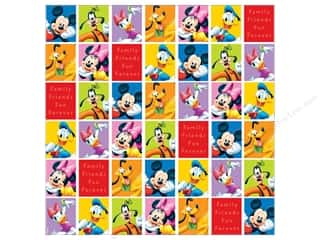"Licensed Products EK Paper 12x12: EK Paper 12""x 12"" Bulk Disney Mickey & Friends Portraits (25 sheets)"