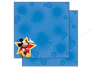 Mickey: EK Paper 12x12 Disney Mickey Star (25 sheets)