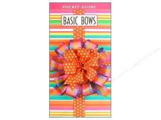Leisure Arts Basic Bows Pocket Guide Book