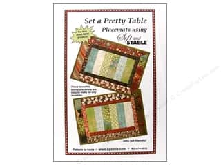By Annie Soft and Stable: Set A Pretty Table Pattern