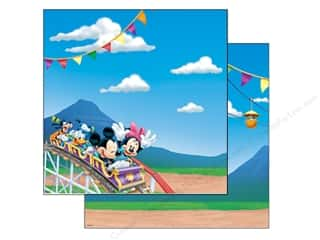 Mickey: EK Paper 12x12 Disney Mickey Park (25 sheets)