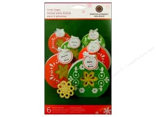 Martha Stewart Treat Bag Scandinavian Poinsettia