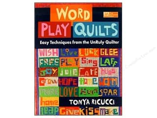 Word Play Quilts Book