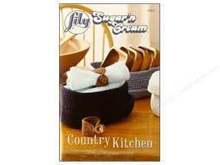 crochet books: Sugar&#39;n Cream Country Kitchen Book