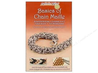 Artistic Wire Beading & Jewelry Making Supplies: Artistic Wire Basics of Chain Maille Book by Lauren Andersen