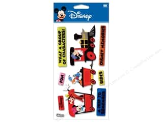 Disney Stickers: EK Disney Sticker 3D Train Mickey