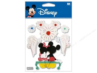 Disney Stickers: EK Disney Sticker 3D Fireworks