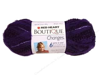 Red Heart Yarn: C&C Red Heart Boutique Changes Yarn 3.5oz Amethyst