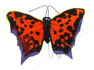 "Insects Basic Components: Midwest Design Butterfly 2.75"" Featherx 1pc"