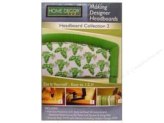 DVD Video Clearance Books: Upholstery Studio Designer Headboards #2 Pattern