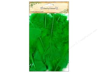 "Midwest Design Imports Basic Components: Midwest Design Feather Turkey Flat 4""-6"" Kelly Green"